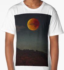 Blood Moon Rising Long T-Shirt