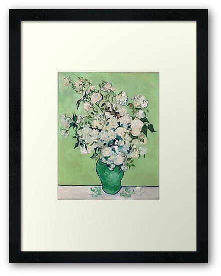 Van Gogh, Roses, 1890 by fineearth