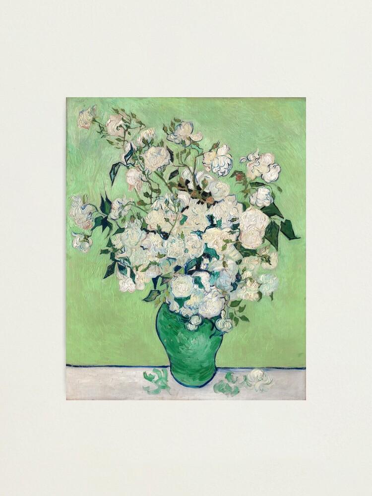 Alternate view of Van Gogh, Roses, 1890 Photographic Print