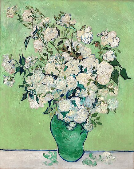Van Gogh, Roses, 1890 by fineearth