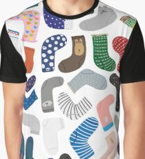 Socks collection Graphic T-Shirt