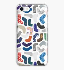 Socks collection iPhone Case/Skin