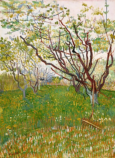 Van Gogh, The Flowering Orchard, 1888 by fineearth