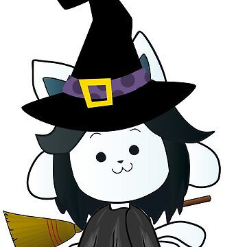 Undertale WITCH TEMMIE Halloween Special! Rendered background by sergeimontoya