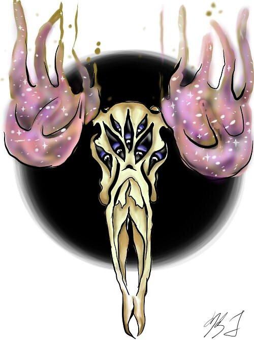 Deer Skull by ArcaneEscapist