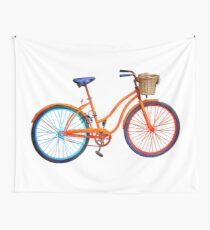 Old  bicycle Wall Tapestry