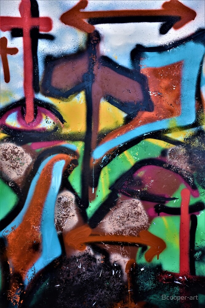 Crossroads - Freehand Spraypaint by Bcooper-art