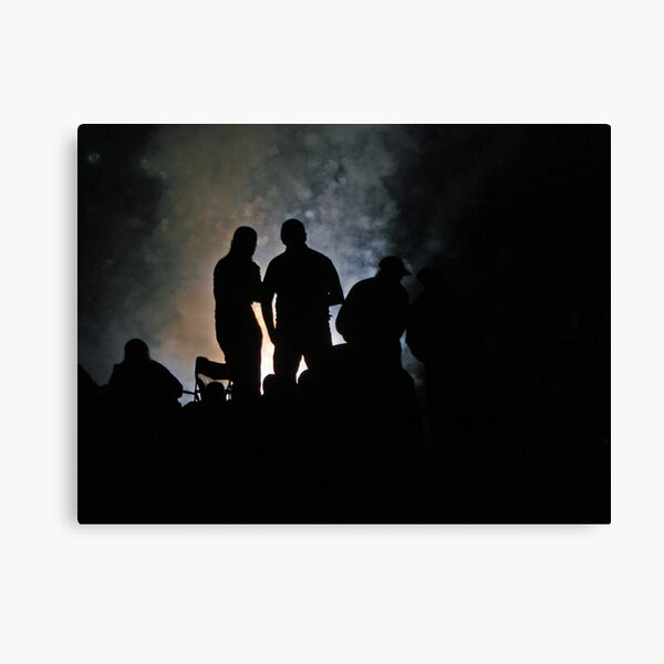 Shows Over Canvas Print
