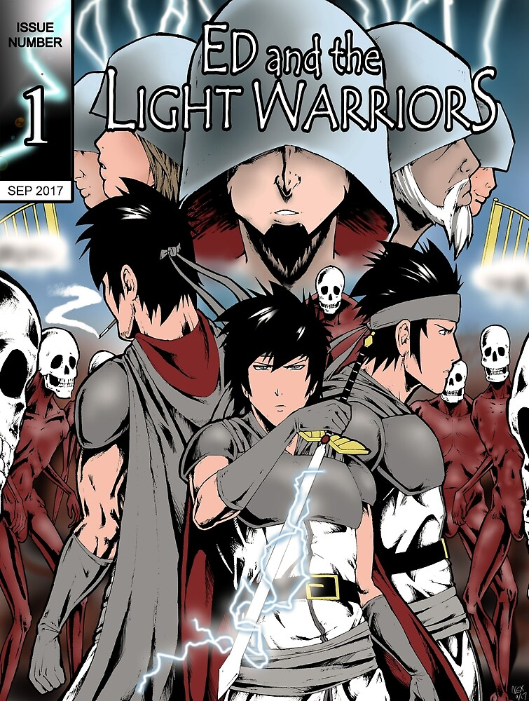 Ed and the Light Warriors #1 by levidrawer