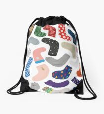 Socks collection 1 Drawstring Bag