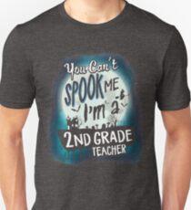 Halloween 2nd Grade Teacher Costume Funny Sarcastic T-Shirt