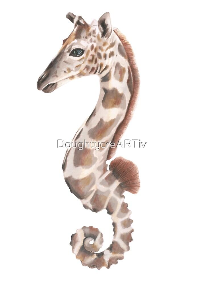 Sea giraffe by DoughtycreARTiv