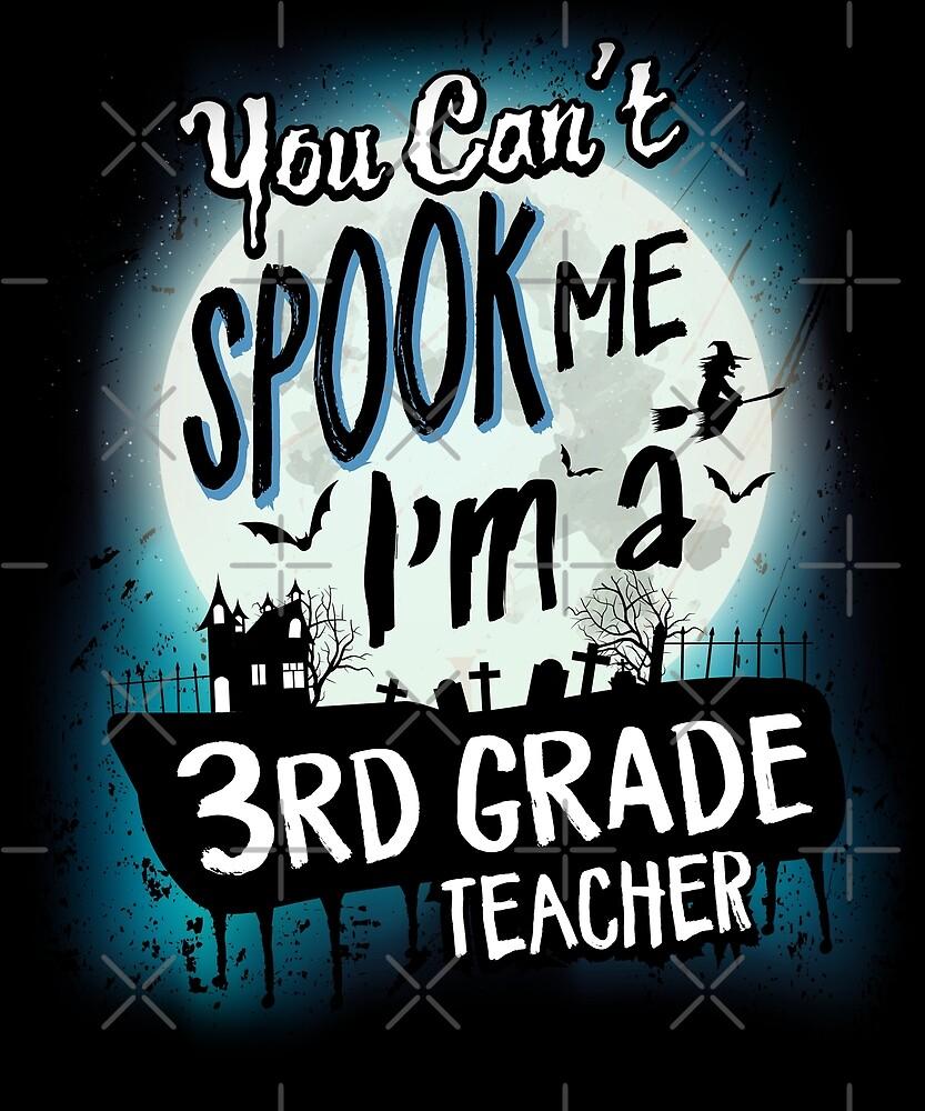 Halloween 3rd Grade Teacher Costume Funny Sarcastic by JapaneseInkArt