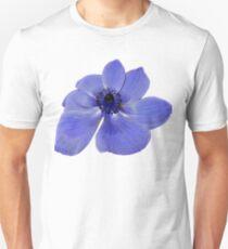 Blue Anemone Flower T-Shirt