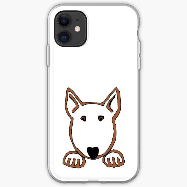 """Bully Paws"" - Bull Terrier iPhone Flexible Hülle"