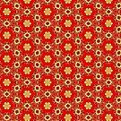 Christmas pattern 2 by Silvia Ganora
