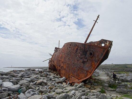 Plassey shipwreck by OcramIllag