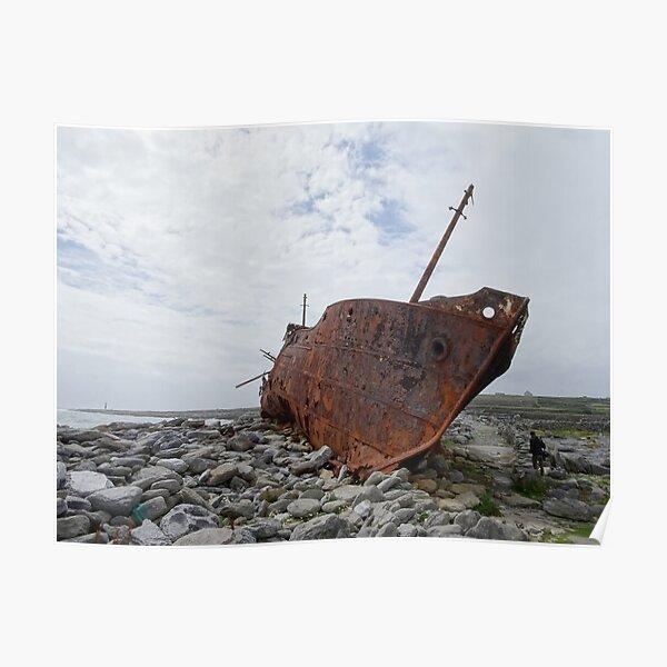 Plassey shipwreck Poster