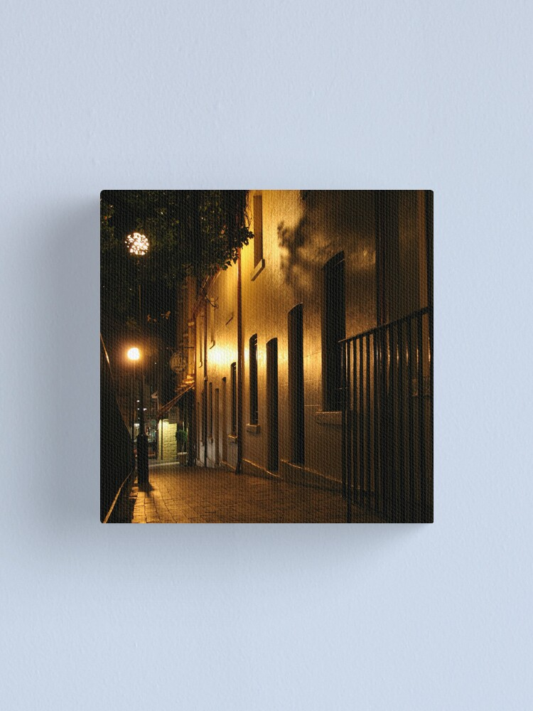 Alternate view of Paved in Gold Canvas Print