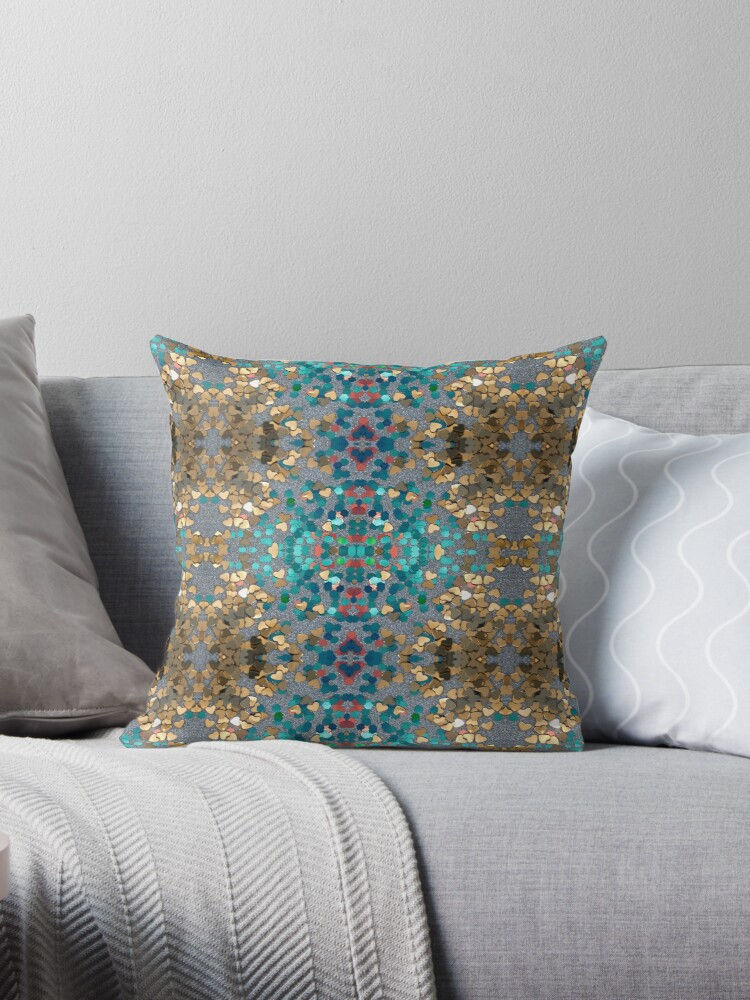 Mosaic Sequin Pattern by JaneIzzyPhoto