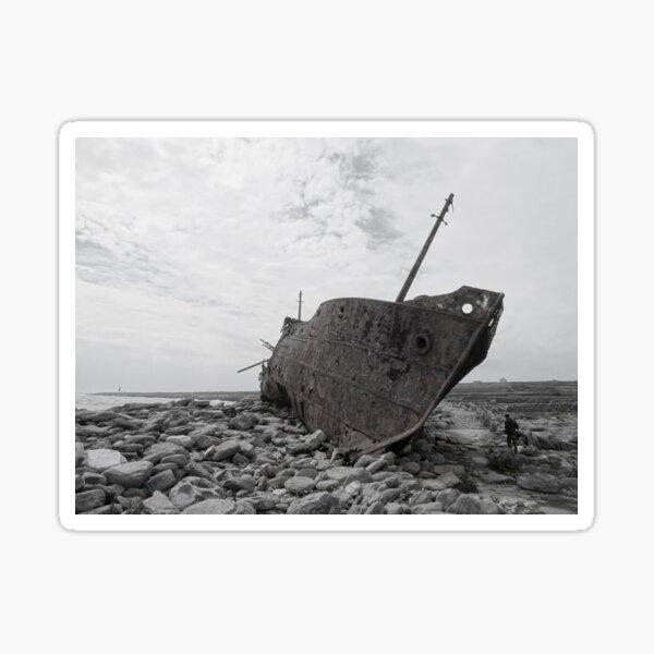 Plassey shipwreck Sticker