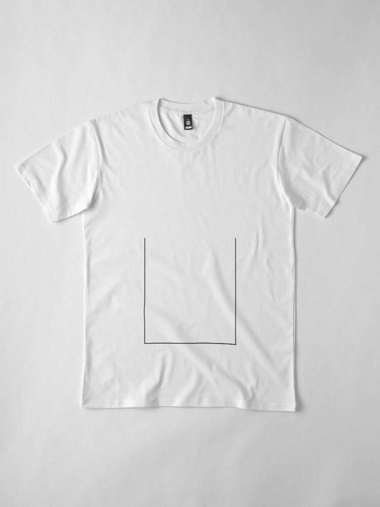 Alternate view of Lines 2 Premium T-Shirt