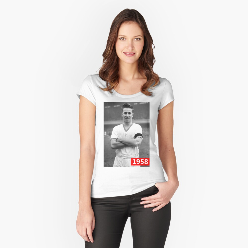 Sir Bobby In 1958 Women's Fitted Scoop T-Shirt Front