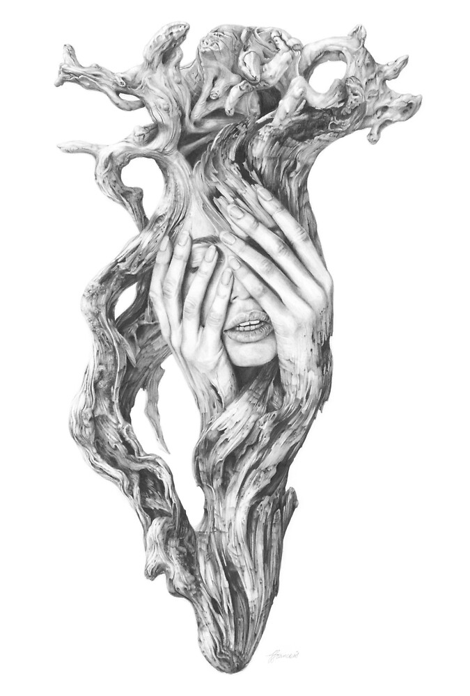 Driftwood Soul 3 by Fiona Francois