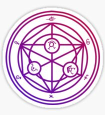 CuteTransmutation Symbol - FMA  Sticker