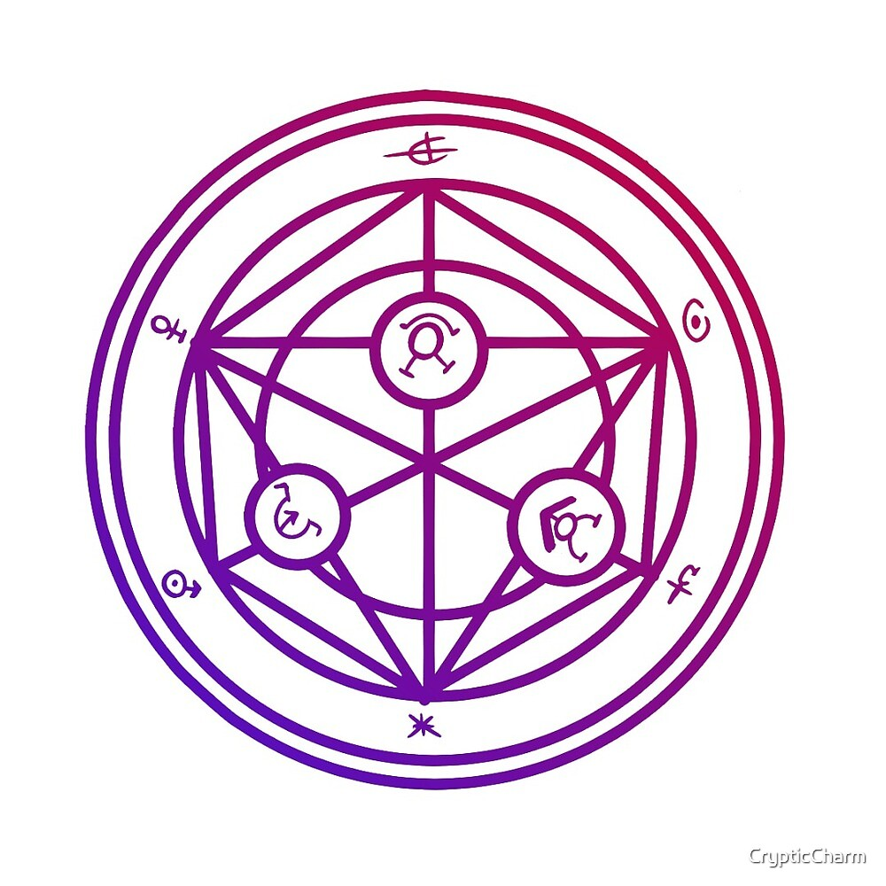 CuteTransmutation Symbol - FMA  by CrypticCharm