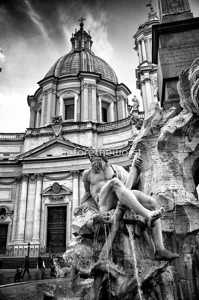 Roma - Piazza Navona by beforetheworst