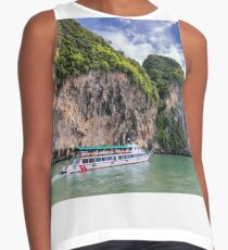 Thailand Boat Cruise on Turquoise Water Contrast Tank