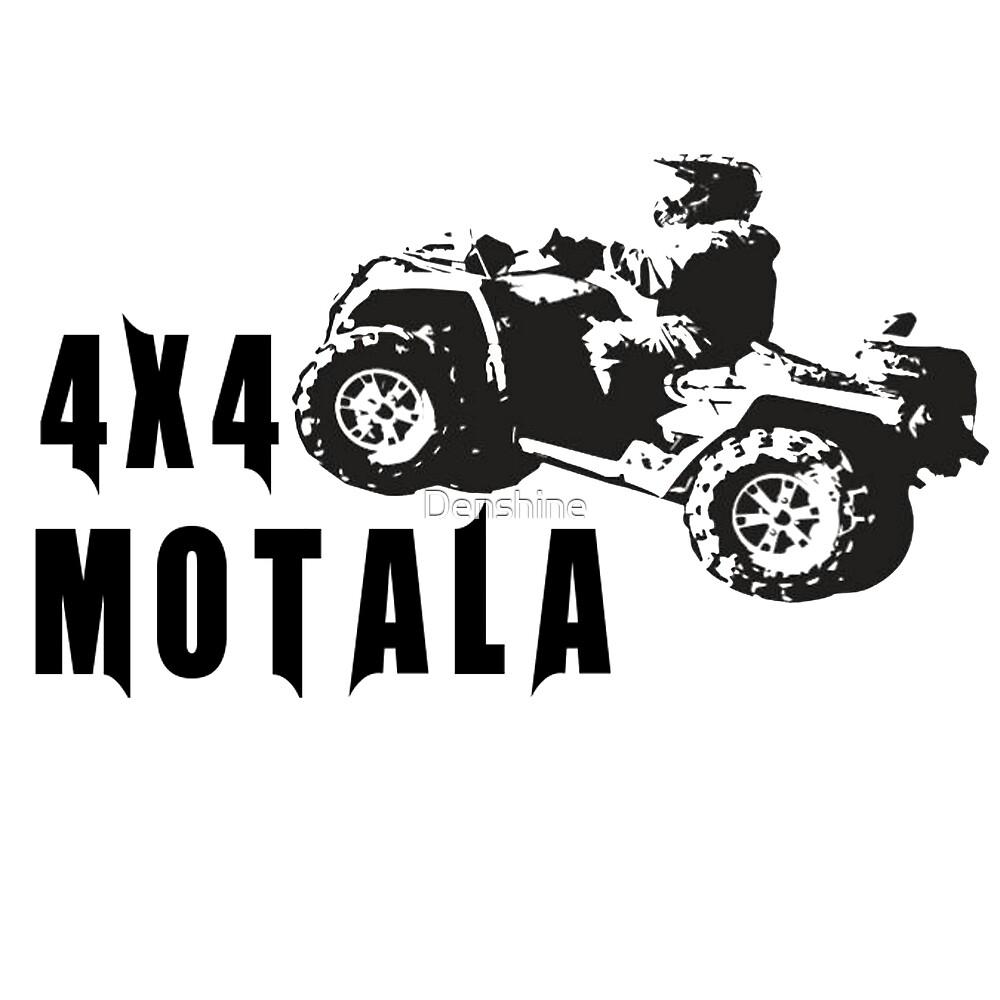 4x4 Motala logga svart by Denshine