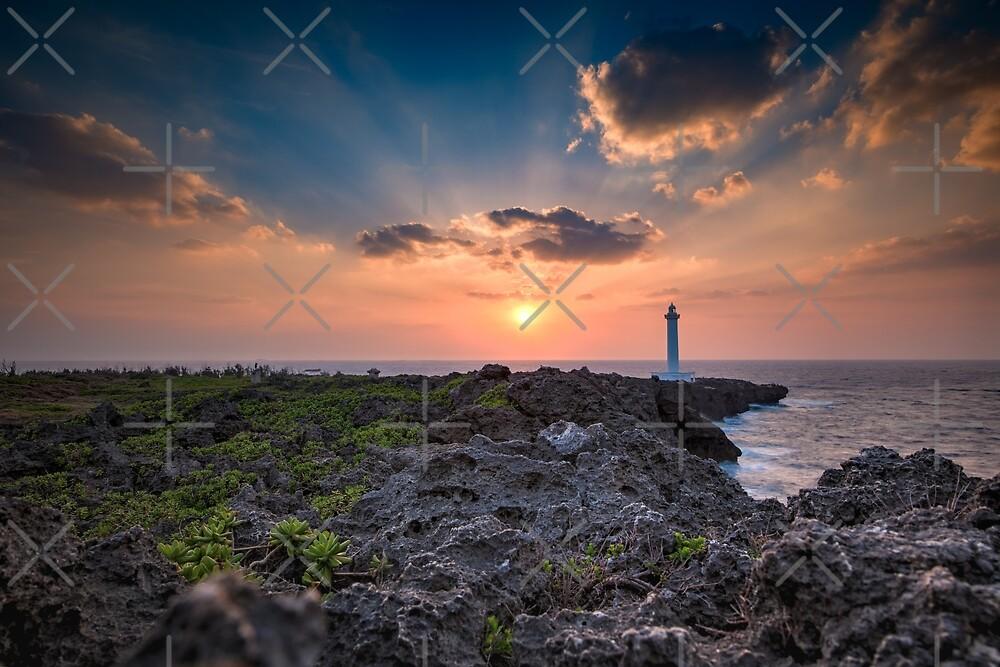 Cape Zanpa Sunset, Okinawa by OkiTog