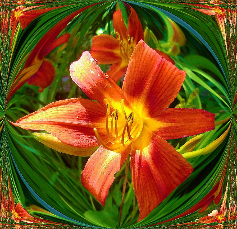 Lily mirrored by Doreen