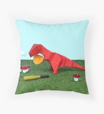 Yes T-Rex can! Throw Pillow