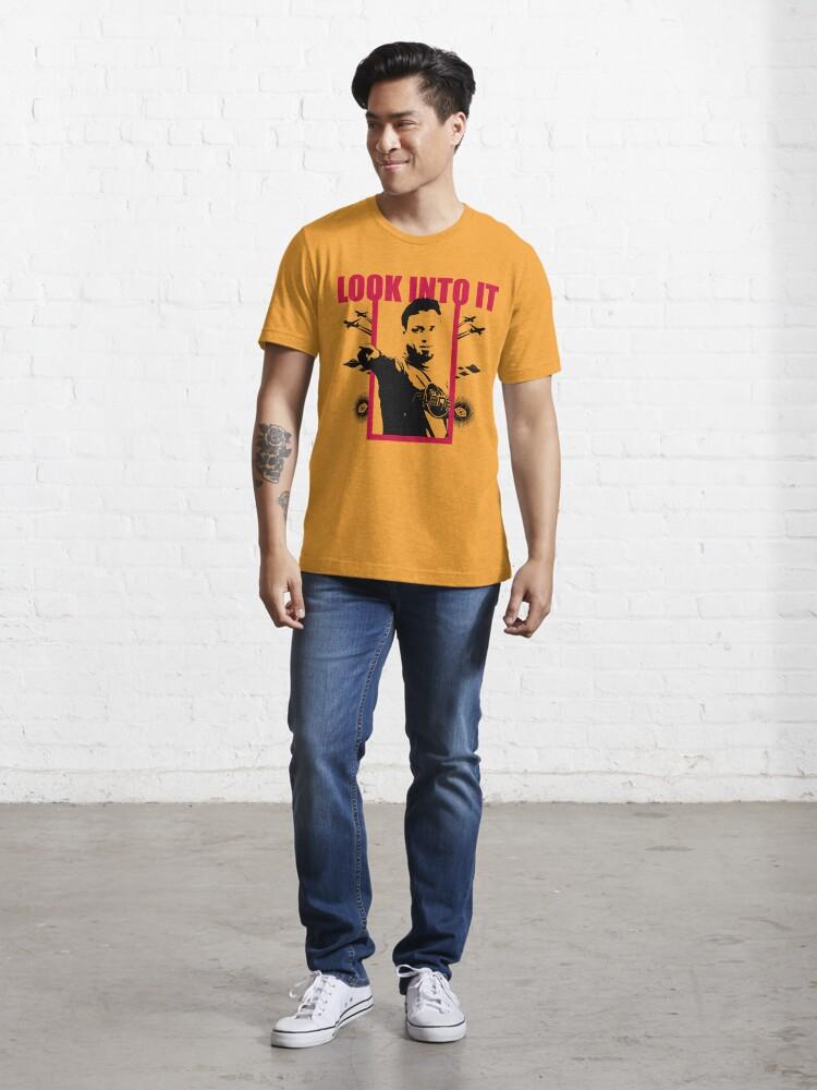 Alternate view of Eddie Bravo: LOOK INTO IT Essential T-Shirt