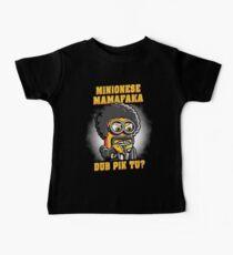 Minionese Mamafaka Kids Clothes