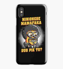 Minionese Mamafaka iPhone Case