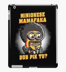 Minionese Mamafaka iPad Case/Skin