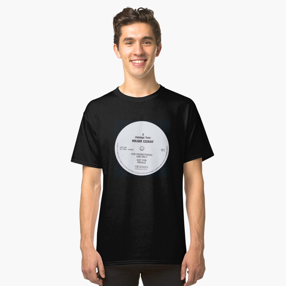 Holger Czukay Classic T-Shirt Front