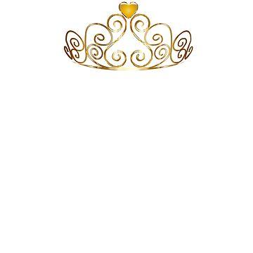 Chin Up Princess (White Text) by bigbadchadley