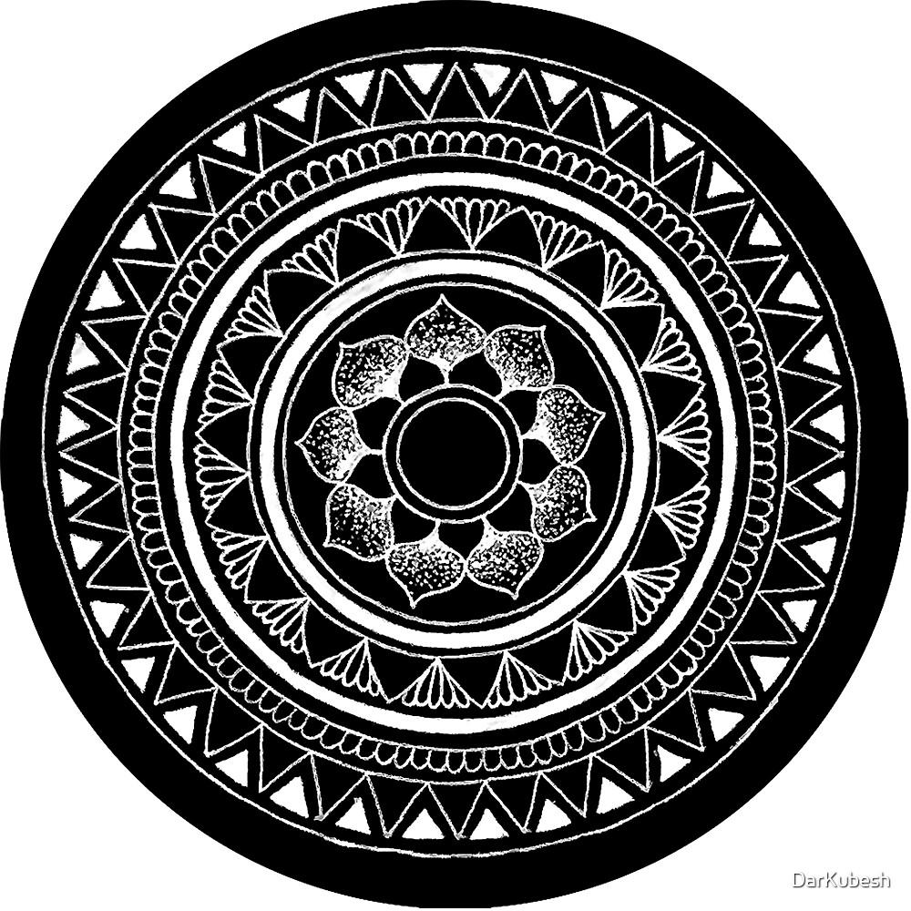 Mandala 4 by DarKubesh