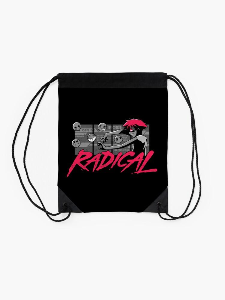 Alternate view of Radical Edward Drawstring Bag