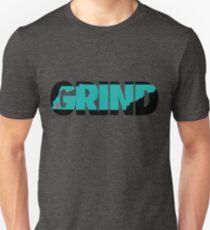 Grind State (Black/Teal) T-Shirt