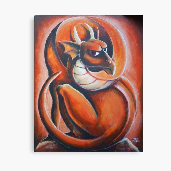 Red Dragon Canvas Print