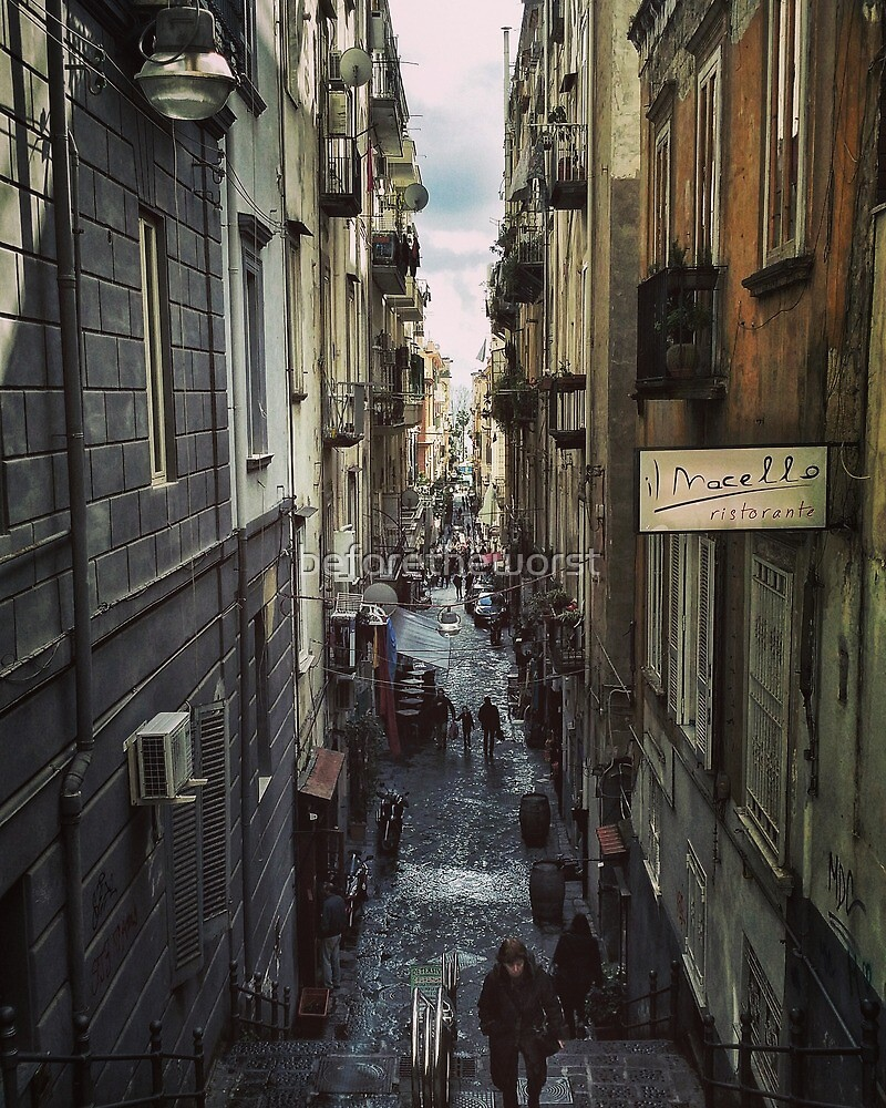 Napoli - Spaccanapoli by beforetheworst