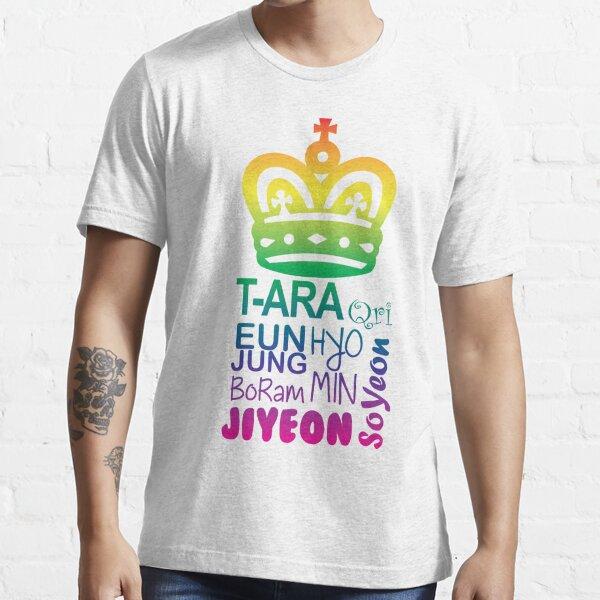 T-ARA Member Names Essential T-Shirt