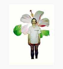 Holger Czukay of Can Art Print