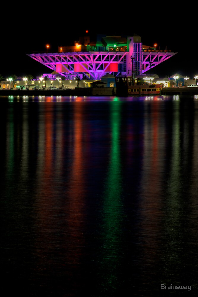 Saint petersburg after dark by Brainsway